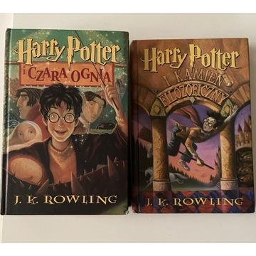 Harry Potter Czara Ognia Kamień Filozoficzny
