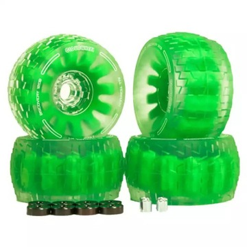 Kola do longboardu Flipsky 120MM zielone