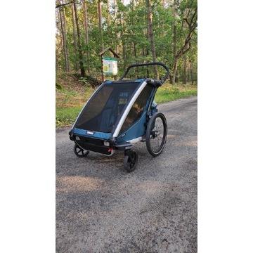 Potestowa przyczepka rowerowa Thule Chariot Cross