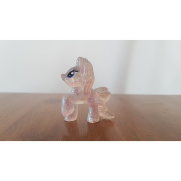 Figurka konik My Little Pony 3szt brokatowe 3,5cm