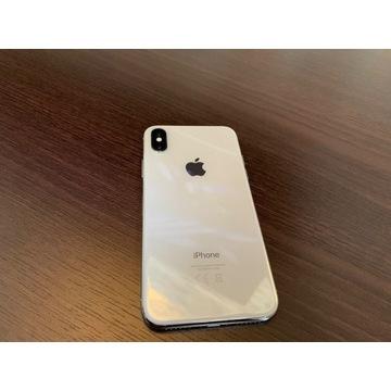 Apple iPhone X 256 GB srebrny/biały bez simlockaPL