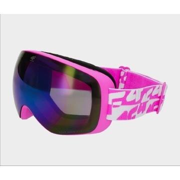 Gogle narciarskie damskie 4F NOWE
