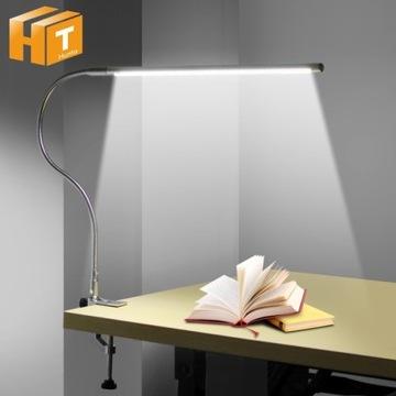 Lampa Led Do Nauki z Elastycznym Ramieniem