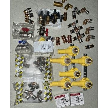 Złączki, zawory, hydraulika NOWE niemieckie