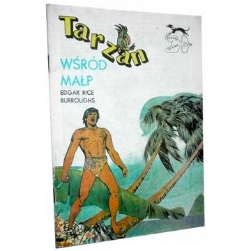 TARZAN WŚRÓD MAŁP Edgar Rice Burroughs - komiks