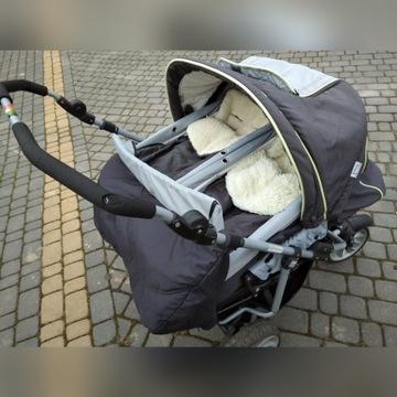 Wózek bliźniaczy Teutonia