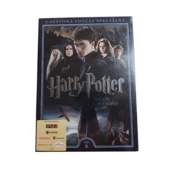 HARRY POTTER I KSIĄŻĘ PÓŁKRWI 2 DVD