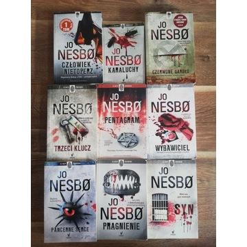 Seria książek Jo Nesbø x 9