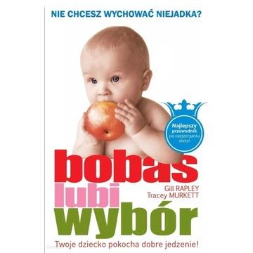 Bobas lubi wybór NOWA KSIĄŻKA