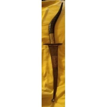Nóż sztylet arabski
