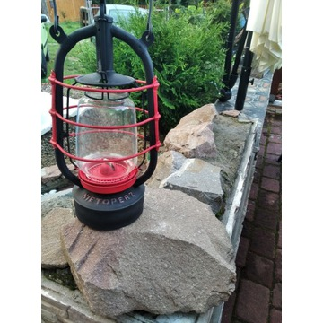 Lampa naftowa nietoperz