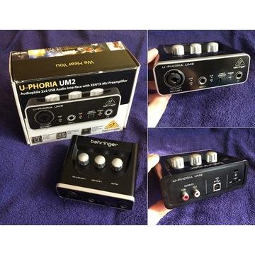 Interface audio U-PHORIA UM2 Beringer