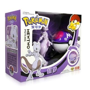 Pokeball Clip Składana figurka Pokemon Mewtwo