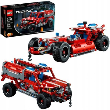 LEGO 2w1 TECHNIC 42075 Pojazd reagowania 100%