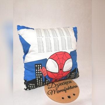 Poduszka z tabliczka mnożenia Handmade