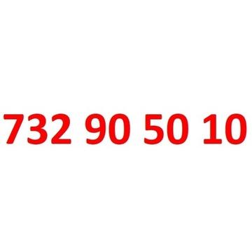 732 90 50 10 starter play ładny złoty numer