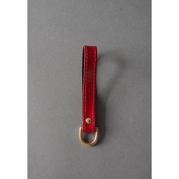 Skórzany brelok do kluczy