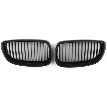 Nerki atrapy grile BMW e92 coupe czarny mat (para)