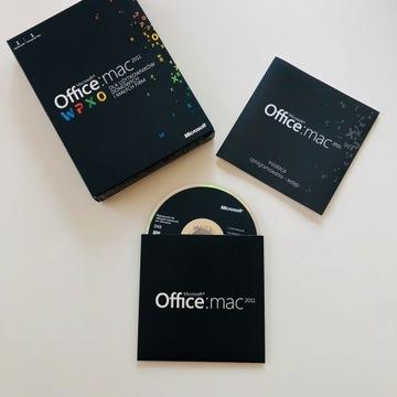 Microsoft Office Mac 2011 Dom i Firma BOX PL FV