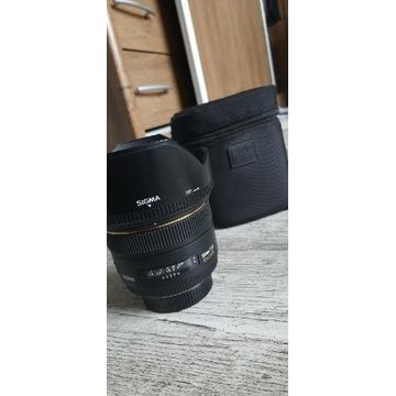 Obiektyw Sigma 50mm f/1.4 EX DG HSM Nikon, zadbany