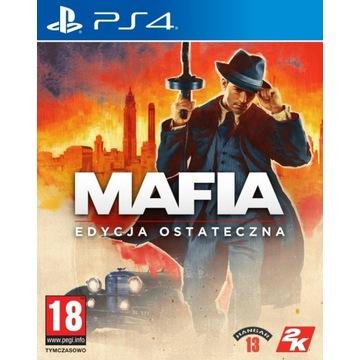 Mafia Definitywna Edycja PS4 PL