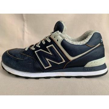 Męskie sneakersy zimowe NEW BALANCE 574, roz.45,5