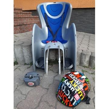 Fotelik na rower, do 18kg + kask