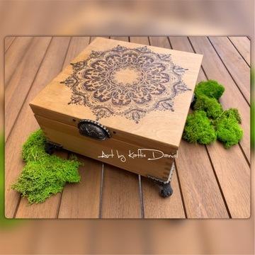 Skrzyneczka / pudełko MANDALA