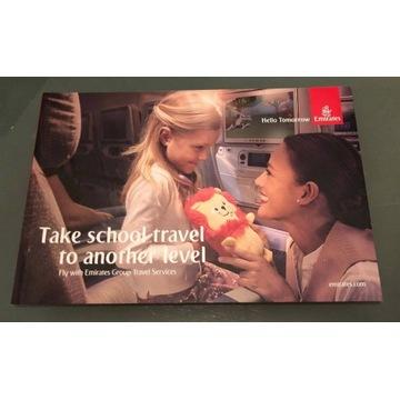 Emirates Group Travel broszura produktu