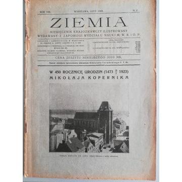 ZIEMIA Miesięcznik Krajoznawczy Ilustrowany 1923/2