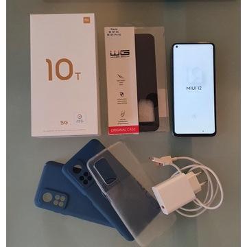 Xiaomi MI 10T 5G 6/128GB DS srebrny, jak nowy