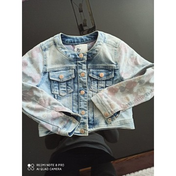 Kurtka jeansowa Reserved rozmiar 116