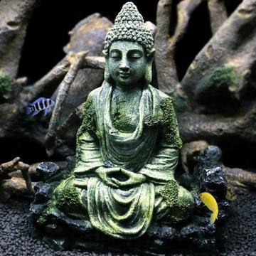 1szt Buddha Statue Aquarium Ornament