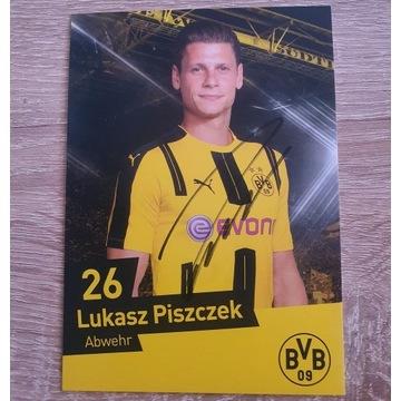 Autograf Łukasz Piszczek - Borussia Dortmund