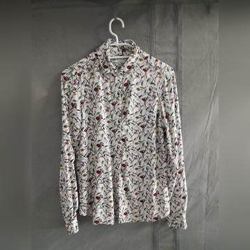 Koszula marki Wólczanki kwiaty wiosna elegancka