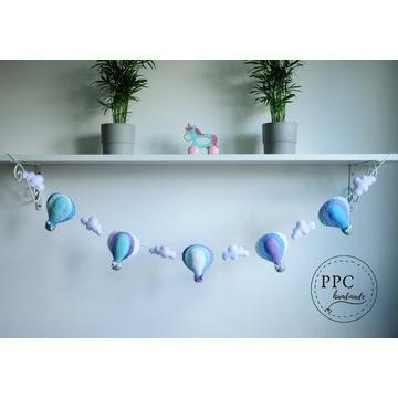 Girlanda Pastelove baloniki