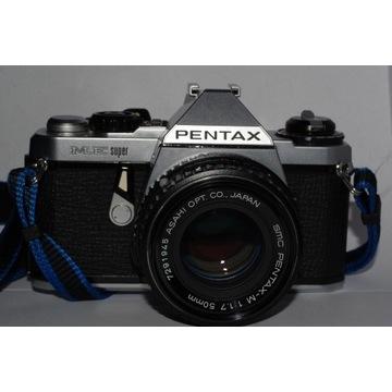 Pentax ME Super + SMC Pentax-M 50mm f1.7