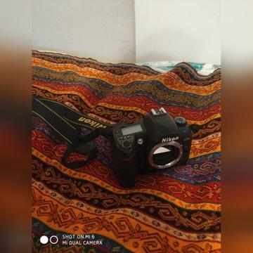 Nikon d70s + dwa obiektywy