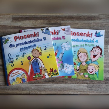 Piosenki dla przedszkolaków 3xCD+