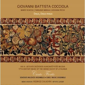 CD Giovanni Battista Cocciola Muzyka baroku