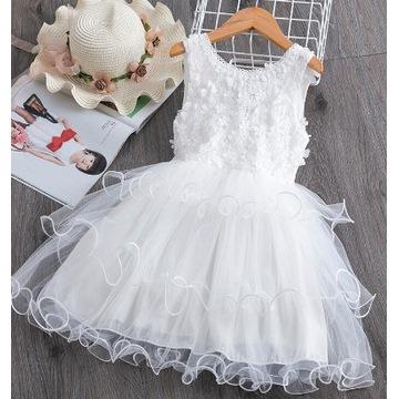 Elegancka Sukienka tiul 130