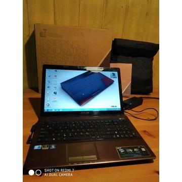 """Laptop Asus K53SJ 15.6"""" obudowa metalowa - taniej!"""
