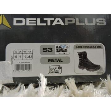 Buty DeltaPlus Caderousse S3 SRC zimowe solidne