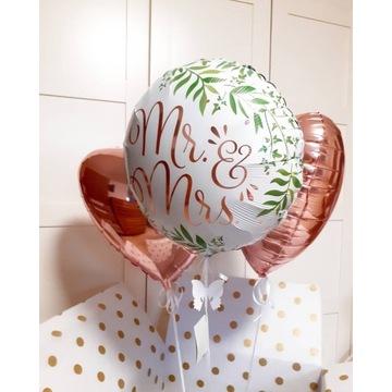 Zestaw Balonów z Helem na ŚLUB !!!