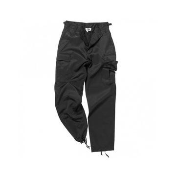 Spodnie bojówki BDU MIL-TEC czarne rozmiar L