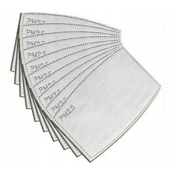 Filtr filtry pm 2.5 do maseczki HEPA N95 N99 FFP3