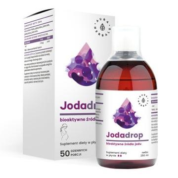 Aura Herbals Jodadrop bioaktywne źródło jodu, nowy
