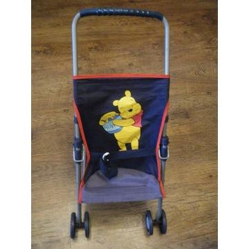 Wózek dla lalek spacerówka Kubuś Puchatek Disney