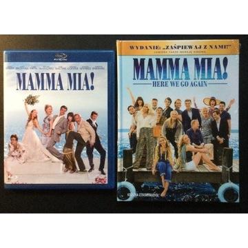 MAMMA MIA! cz. 1 & 2   Bluray & dvd