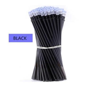 Czarne zmazywalne wkłady do długopisu 10 sztuk